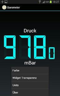 Barometer – Miniaturansicht des Screenshots