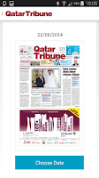 Screenshot of Qatar Tribune