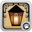 Bright setting Lamp icon
