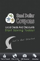 Screenshot of Sand Dollar Coupons