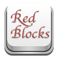 App Keyboard in Red Blocks apk for kindle fire