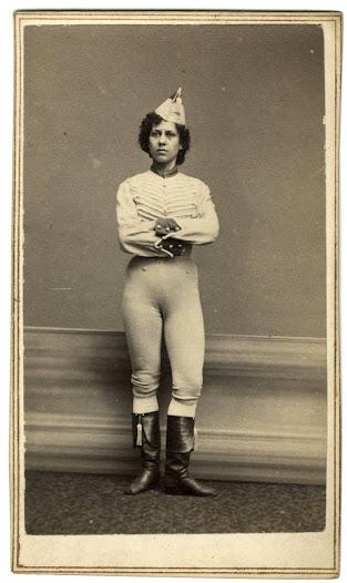 Ella Wesner, ca. 1880