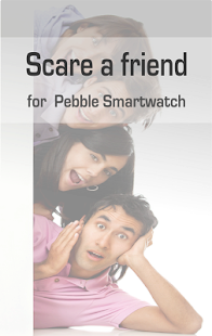 Scare friend for Pebble - screenshot