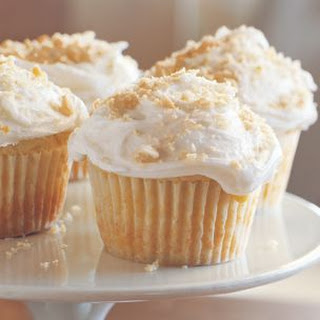 Passion Fruit Cupcakes with Coconut Frosting