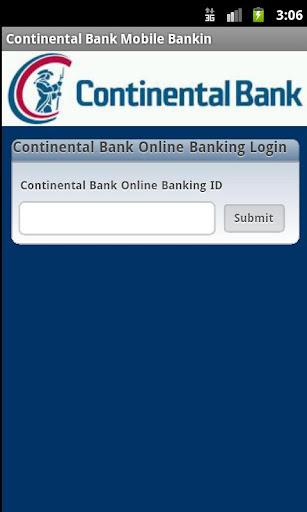 Continental Bank Mobile Bankin