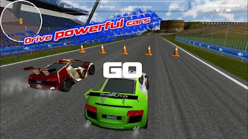 Screenshot of Island Racer Lite