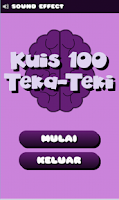 Screenshot of Kuis 100 Teka Teki Asah Otak