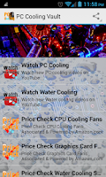 Screenshot of PC Cooling Vault