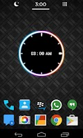 Screenshot of Neon Clock Free