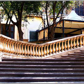ENTRANCE STAIRS, MONTE CASINO by Danie Knipe - Buildings & Architecture Other Exteriors ( johannesburg, dkpgs, architecture, danie knipe, monte casino,  )
