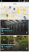 Screenshot of Berlin City Guide