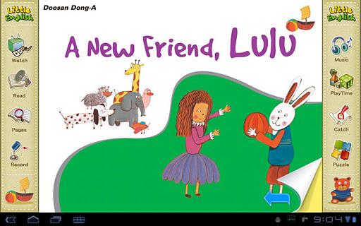 리틀잉글리시-A New Friend Lulu 7세용