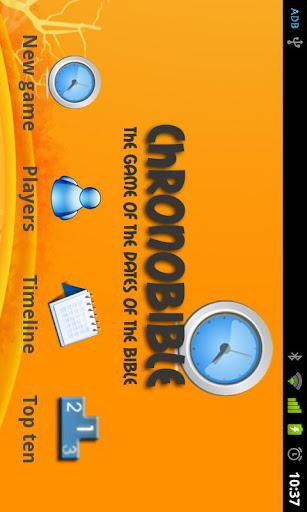 Game - ChronoBible