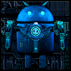 Steampunk Droid Live Wallpaper icon
