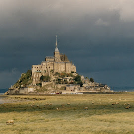 Mont St Michel by Steve Cooke - City,  Street & Park  Historic Districts