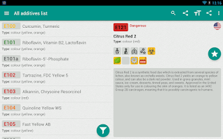 Screenshot of Eat Informed - Food Additives