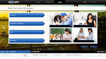 Screenshot of Open English