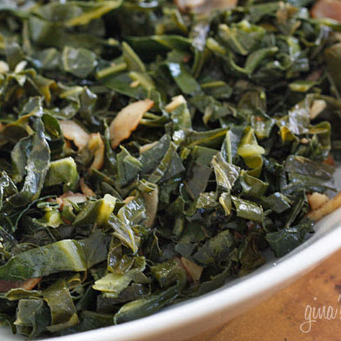 Sauteed Collard Greens with Bacon