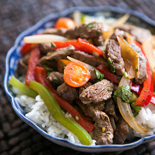 Quick Beef Stir-Fry with Bell Peppers