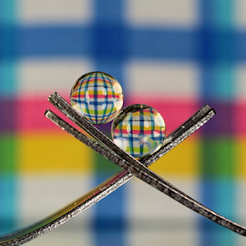by Dipali S - Artistic Objects Other Objects ( fork, sphere, refraction )