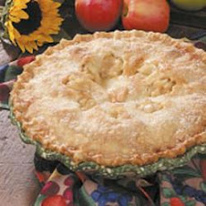 Saucy Spiced Apple Pie