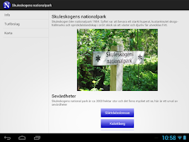 Screenshot of Skuleskogen - Nationalpark