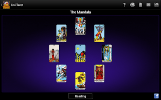 Screenshot of Uni Tarot (8 decks+)
