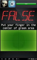 Screenshot of Finger Lie Detector