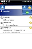 Screenshot of ICD-10 Lite