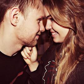 Love  by Shelby Voisine - People Couples ( love, boyfriend, happy, couple, cute, smiles, people )