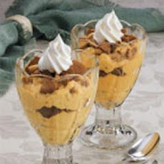 Pumpkin Crunch Parfaits