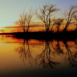 by Otto Mercik - Landscapes Sunsets & Sunrises ( apus 2 )