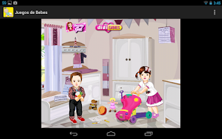 Screenshot of Baby care games