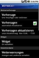 Screenshot of wetter.net pro