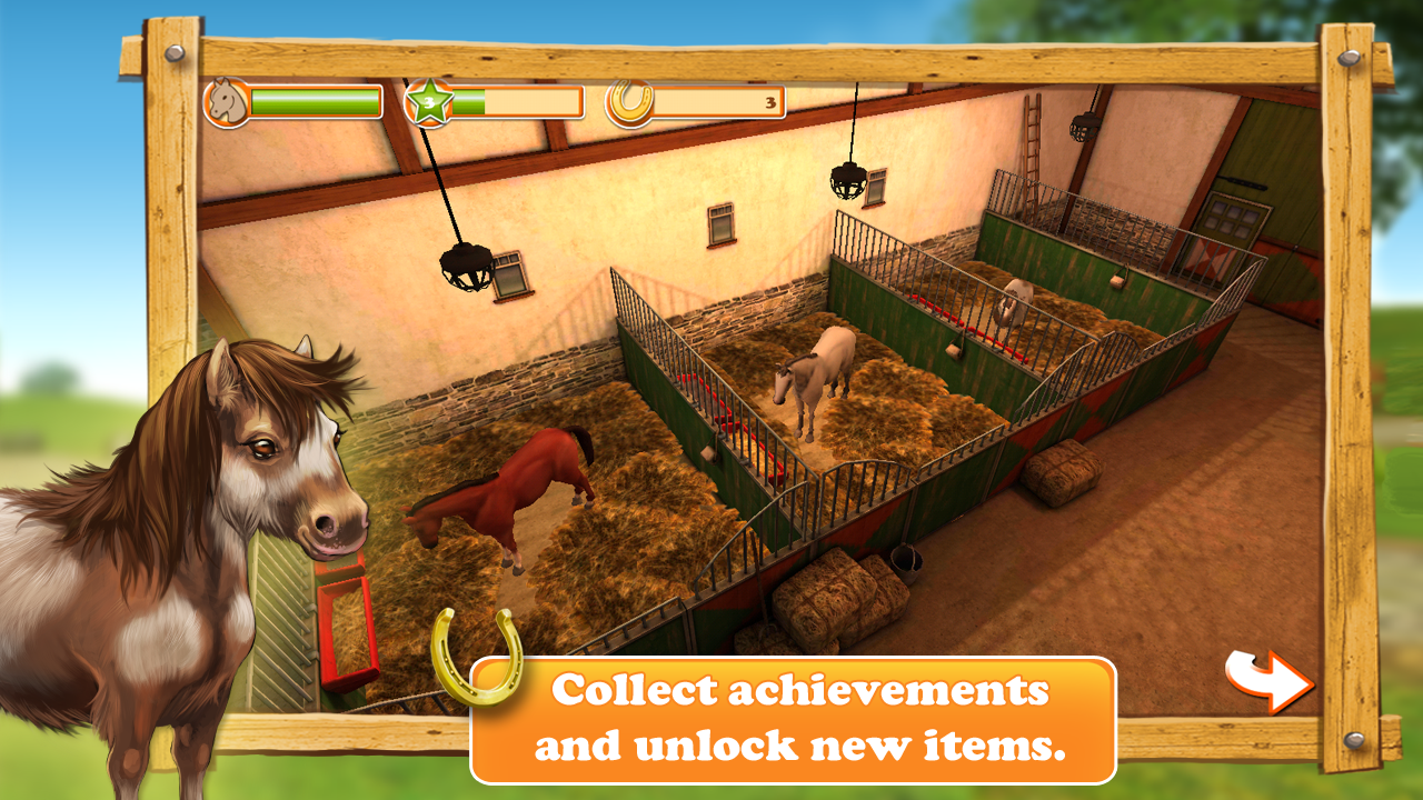 HorseWorld 3D LITE Screenshot 4