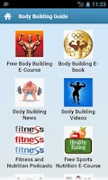 Screenshot of Body Building Guide!