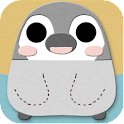 "Pesoguin ""Applique"" for[+]HOME icon"