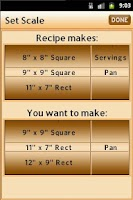Screenshot of Recipe Elf