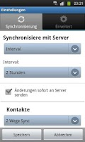 Screenshot of 4myPAL SyncML Client & Server