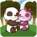 Panda Love Animated Wallpaper icon