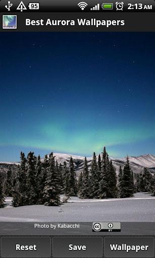 免費媒體與影片App|Best Aurora Wallpapers|阿達玩APP