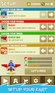 A-Kart Paperboy : Runner Game Screenshot