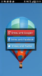 AndroidSocialLoginTemplate - screenshot