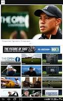Screenshot of Golf Channel Mobile