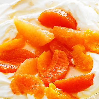 Vanilla-Poached Oranges