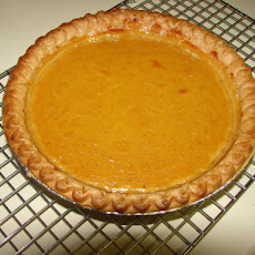 Alton Brown's Yogurt Pumpkin Pie