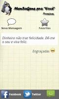 Screenshot of MenSaGens Pra Você Premium