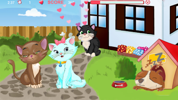 Screenshot of Kitty kiss
