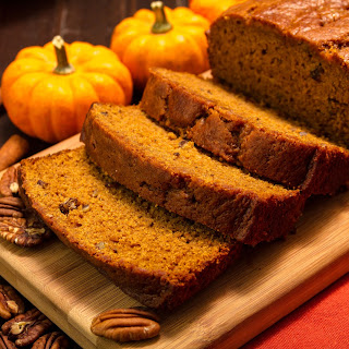 Ginger Pecan Pumpkin Loaf