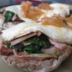 Curried Ham and Egg Stacks